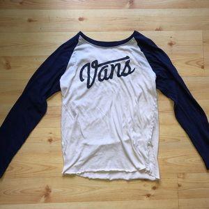 Vans Long Sleeve T Shirt